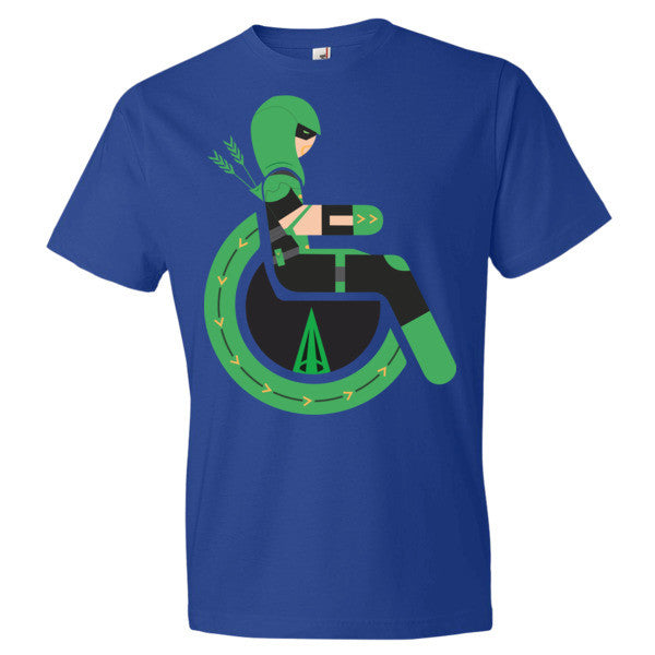 Men's Adaptive Green Arrow Lightweight T-Shirt