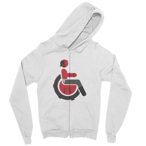 Men's Adaptive Hellboy Zip Hoodie