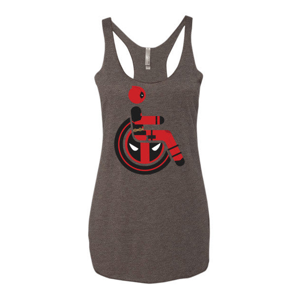 Women's Adaptive Deadpool Tank Top (XS-L)