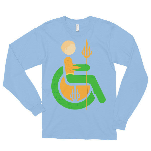 Adaptive Aquaman Long Sleeve