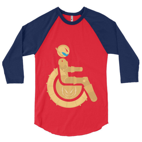 Men's Adaptive Ultron 3/4 Sleeve Raglan Shirt