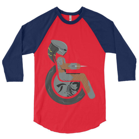 Men's Adaptive Predator 3/4 Sleeve Raglan Shirt