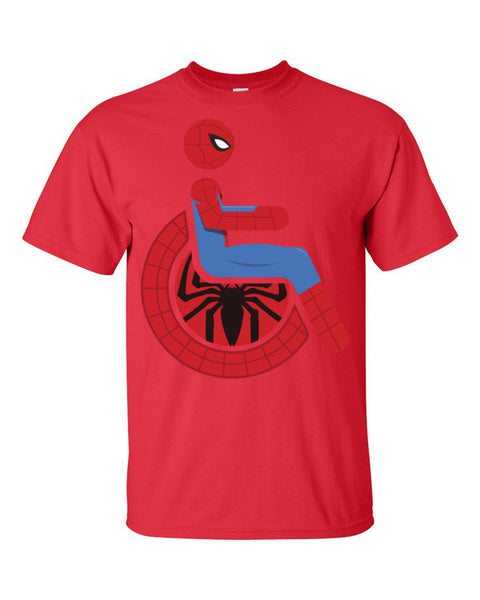 Men's Adaptive Spider-Man T-Shirt