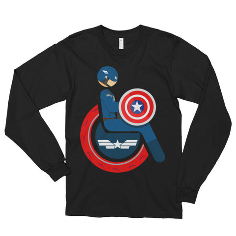 Adaptive Captain America Long Sleeve