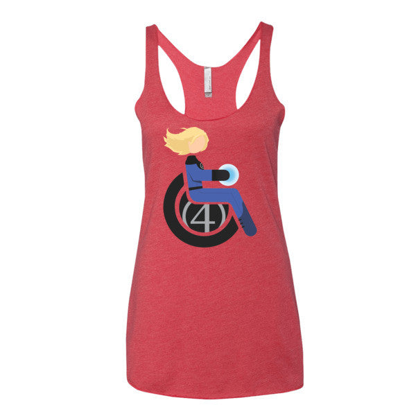 Women's Adaptive Invisible Woman Tank Top (XL)