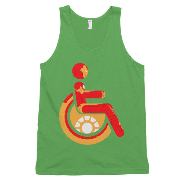 Adaptive Iron Man Classic Tank Top