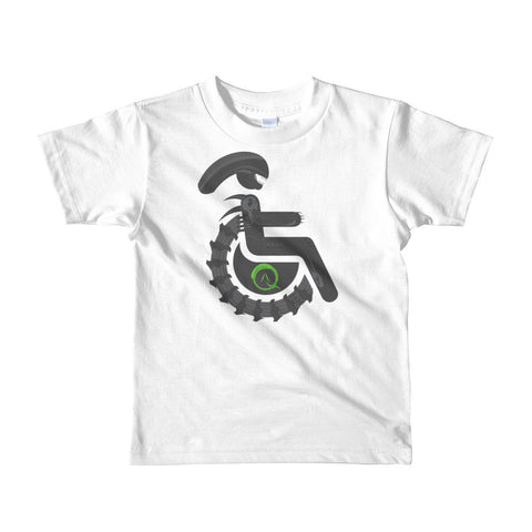 Kid's Adaptive Alien Xenomorph Drone T-Shirt (2yrs-6yrs)