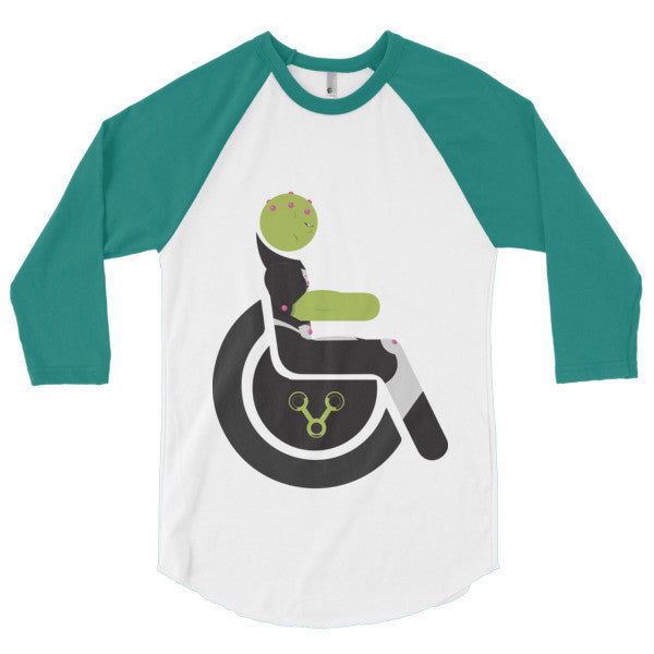 Men's Adaptive Brainiac 3/4 Sleeve Raglan Shirt