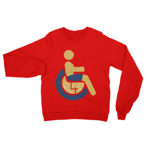 Adaptive The Thing Raglan Sweater