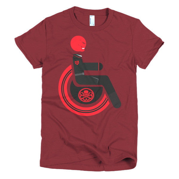 Women's Adaptive Red Skull T-Shirt (XL-2XL)