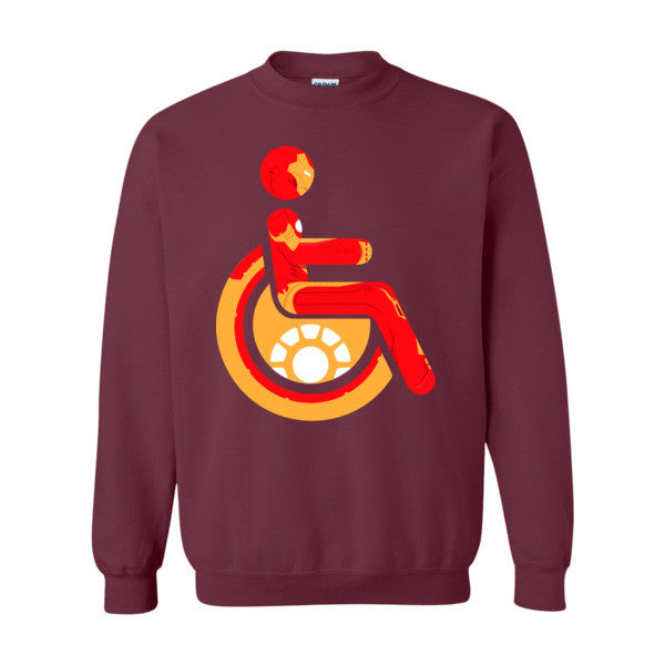 Men's Adaptive Iron Man Crewneck Sweatshirt
