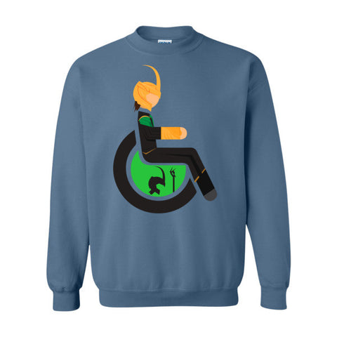 Men's Adaptive Loki Crewneck Sweatshirt