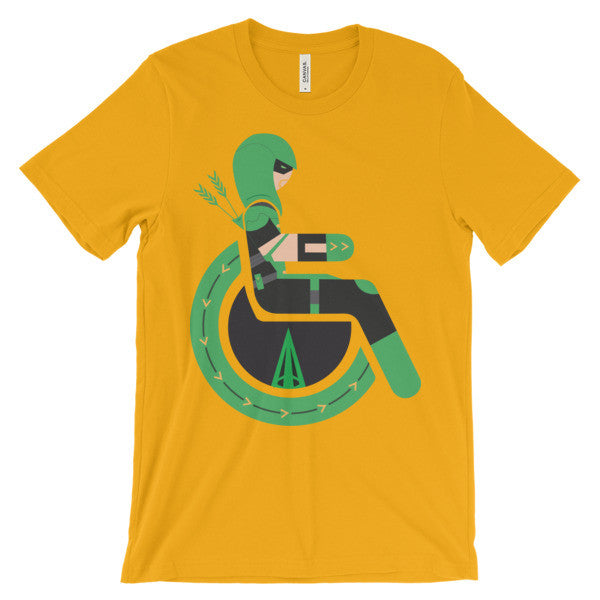 Adaptive Green Arrow Short Sleeve T-Shirt
