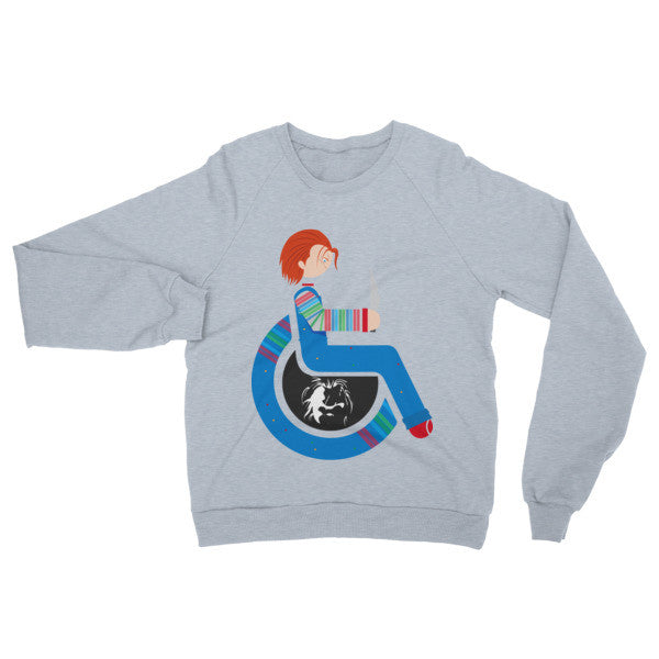 Adaptive Chucky Raglan Sweater