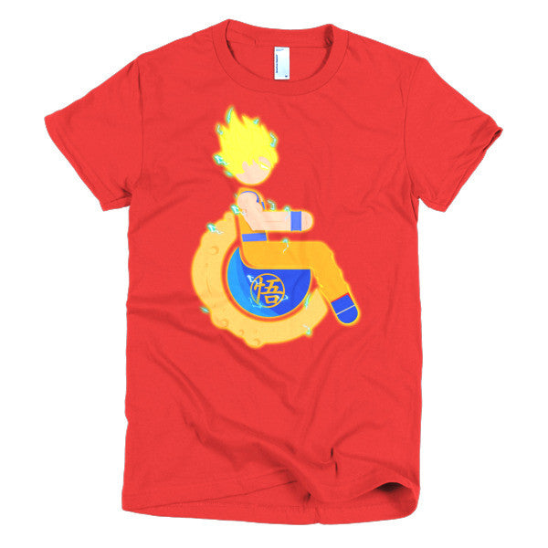 Women's Adaptive Super Saiyan 1 Goku T-Shirt (S-L)
