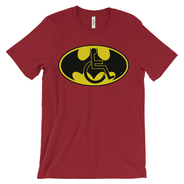 Adaptive Batman Symbol Short Sleeve T-Shirt