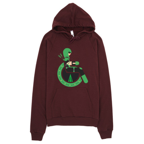 Adaptive Green Arrow Hoodie