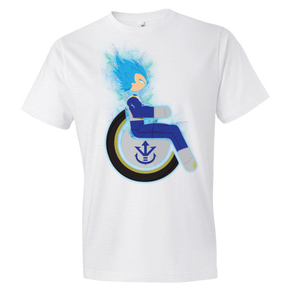 Men's Adaptive Super Saiyan God Super Saiyan Vegeta Lightweight T-Shirt