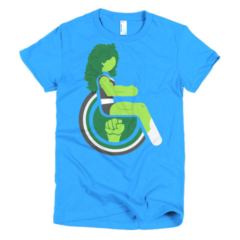 Women's Adaptive She-Hulk T-Shirt (S-L)