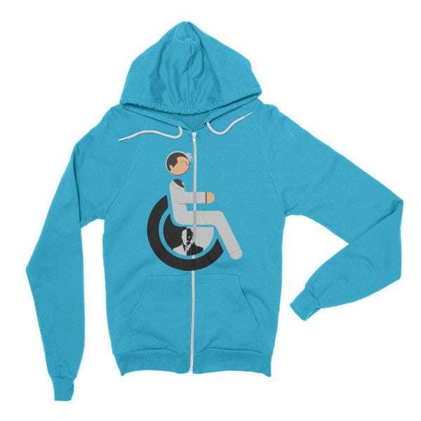 Adaptive Two-Face Flex Zip Hoodie