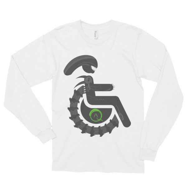 Adaptive Alien Xenomorph Drone Long Sleeve