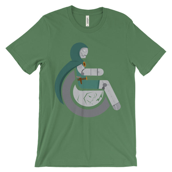 Adaptive Doctor Doom Short Sleeve T-Shirt (3XL-4XL)