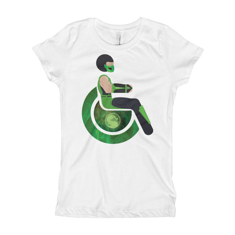 Girl's Youth Adaptive Reptile T-Shirt (XS-XL)