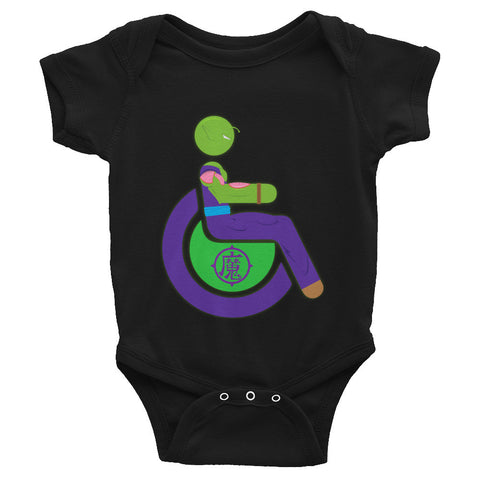 Adaptive Super Namek Piccolo Baby Onesie