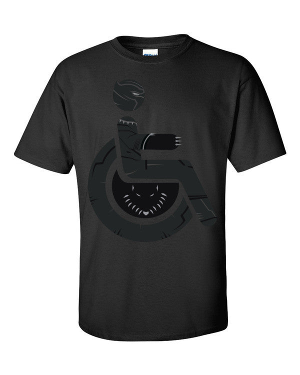 Men's Adaptive Black Panther T-Shirt
