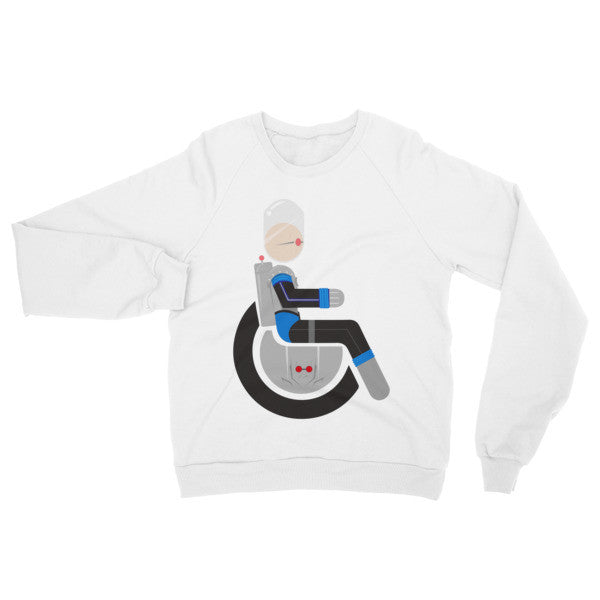 Adaptive Mr. Freeze Raglan Sweater