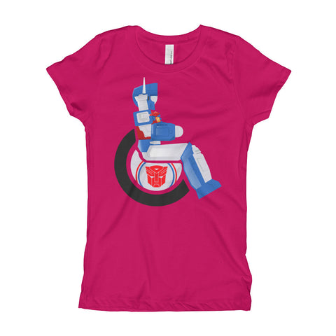 Girl's Youth Adaptive Ultra Magnus T-Shirt (XS-XL)