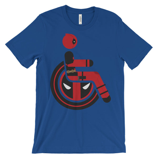 Adaptive Deadpool Short Sleeve T-Shirt (3XL-4XL)