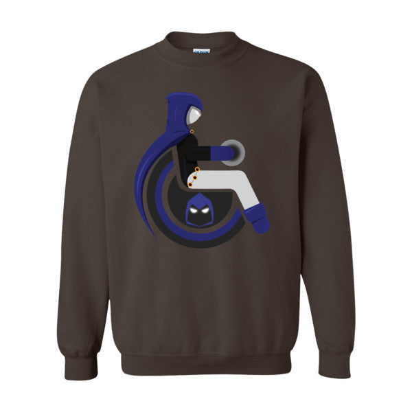 Men's Adaptive Raven Crewneck Sweatshirt