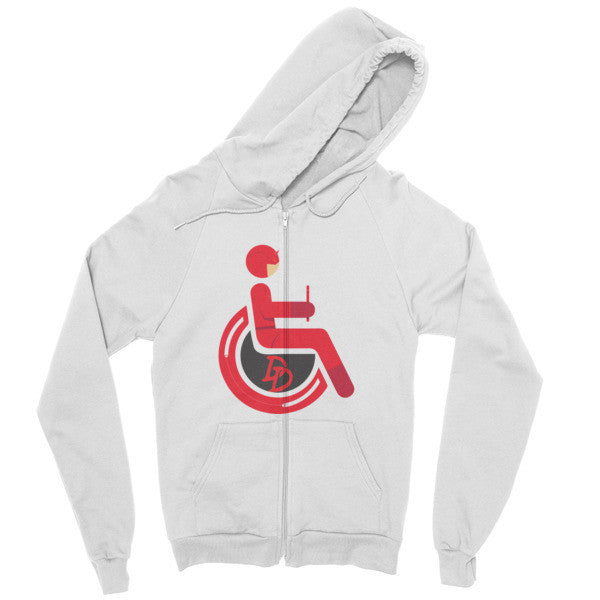 Men's Adaptive Daredevil Zip Hoodie