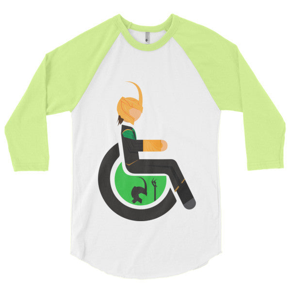 Men's Adaptive Loki 3/4 Sleeve Raglan Shirt