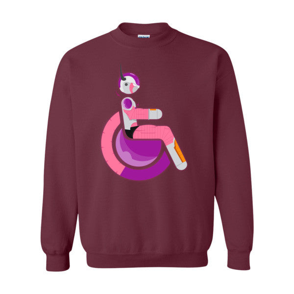 Men's Adaptive Second Form Frieza Crewneck Sweatshirt