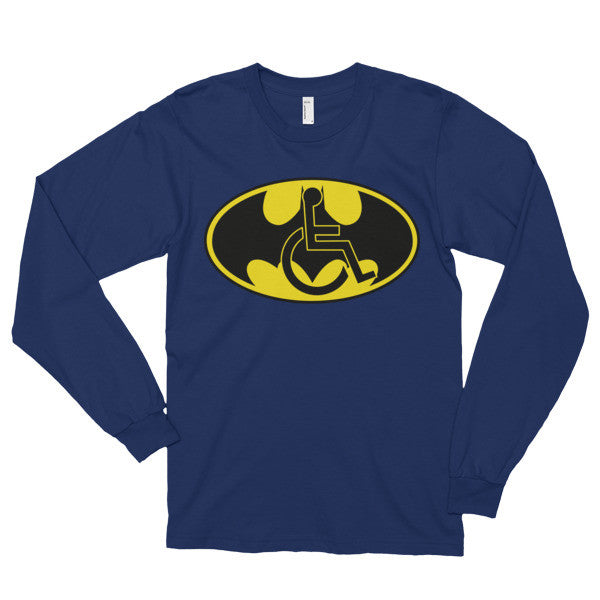 Adaptive Batman Symbol Long Sleeve Adaptive Apparel