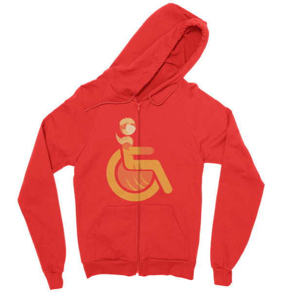Men's Adaptive Sabretooth Zip Hoodie