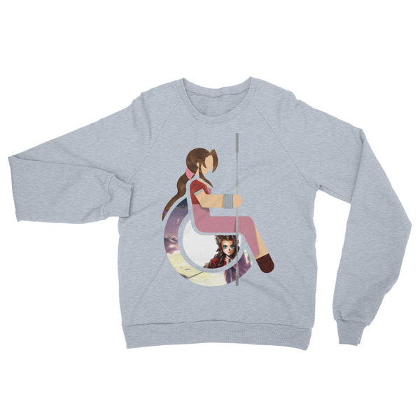 Adaptive Aerith Gainsborough Raglan Sweater