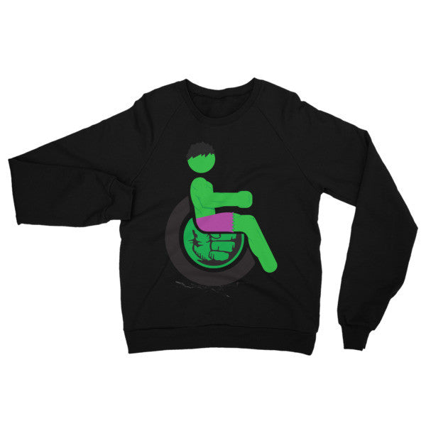 Adaptive Hulk Raglan Sweater