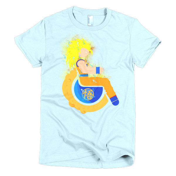 Women's Adaptive Super Saiyan 3 Goku T-Shirt (S-L)