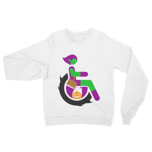 Adaptive Green Goblin Raglan Sweater