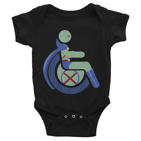 Adaptive Martian Manhunter Baby Onesie