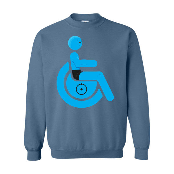 Men's Adaptive Dr. Manhattan Crewneck Sweatshirt