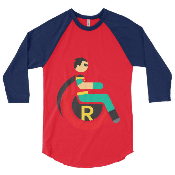 Men's Adaptive Robin 3/4 Sleeve Raglan Shirt