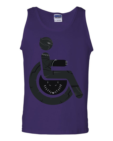 Men's Adaptive Black Panther Tank Top