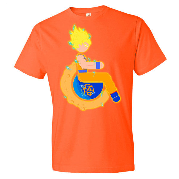 Men's Adaptive Super Saiyan 1 Goku Lightweight T-Shirt