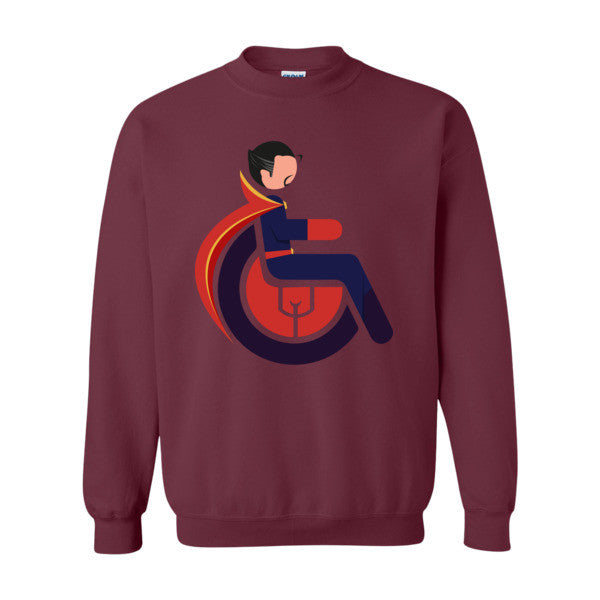 Men's Adaptive Doctor Strange Crewneck Sweatshirt