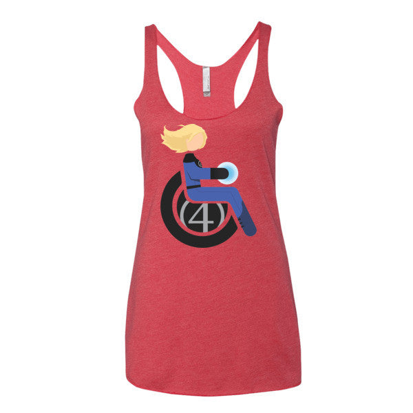 Women's Adaptive Invisible Woman Tank Top (XS-L)