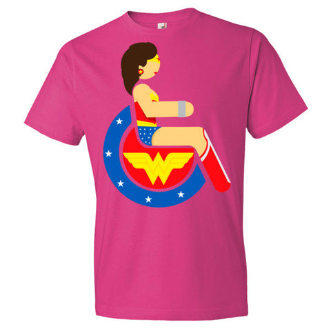 Men's Adaptive Wonder Woman Lightweight T-Shirt